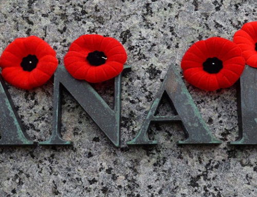 We will be CLOSED for Remembrance Day