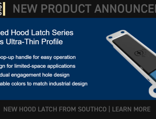 SOUTHCO: Refreshed Hood Latch Series Features Ultra-Thin Profile