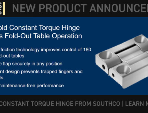 SOUTHCO: New Product: Constant Torque Hinges